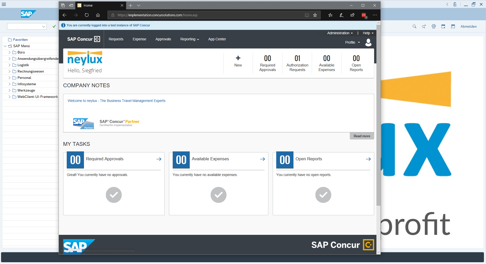 SAP Concur Conversion Workshop