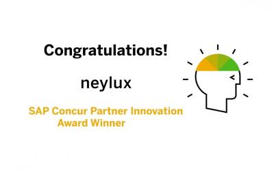 SAP Concur Partner Innovation Award Winner