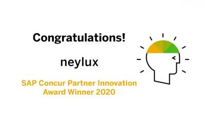 2020 SAP Concur Partner Innovation Award