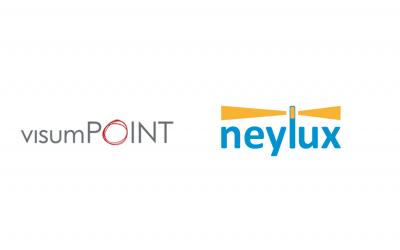 Neue Partnerschaft zwischen neylux und visumPOINT