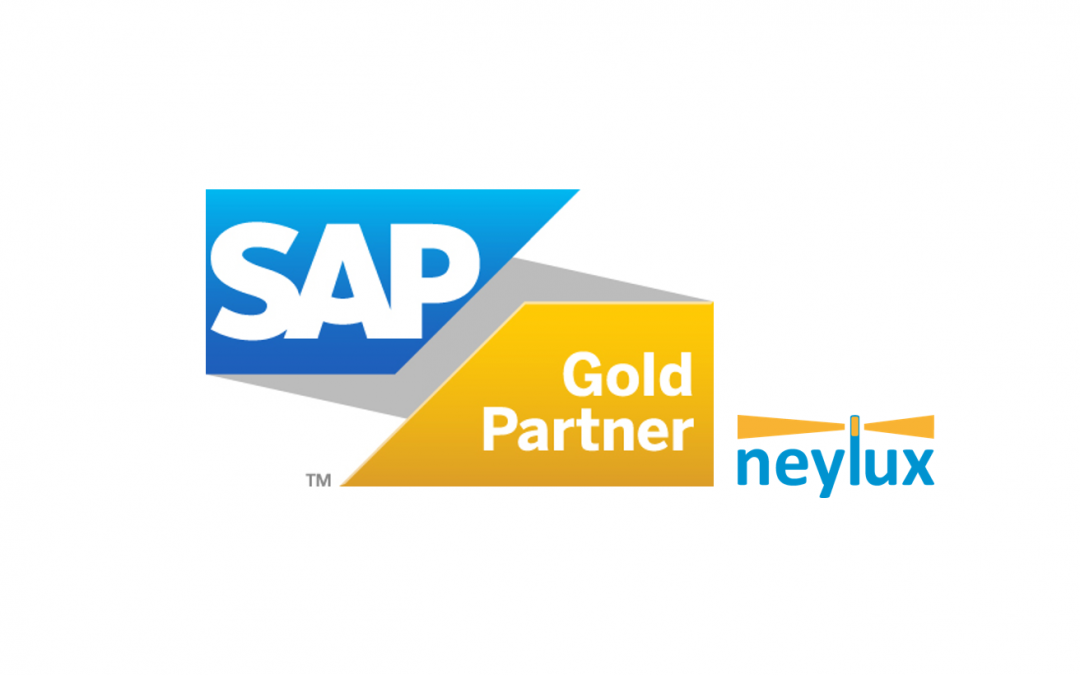 neylux zum SAP Gold Partner ernannt!